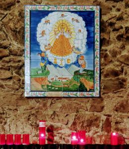 imagen de la Virgen de Núria