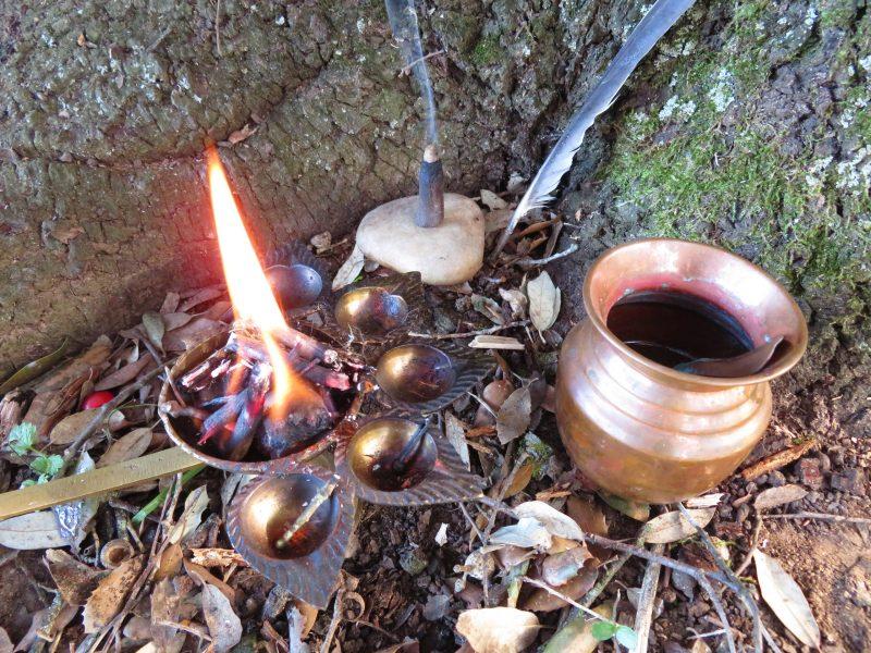 ritual en la naturaleza