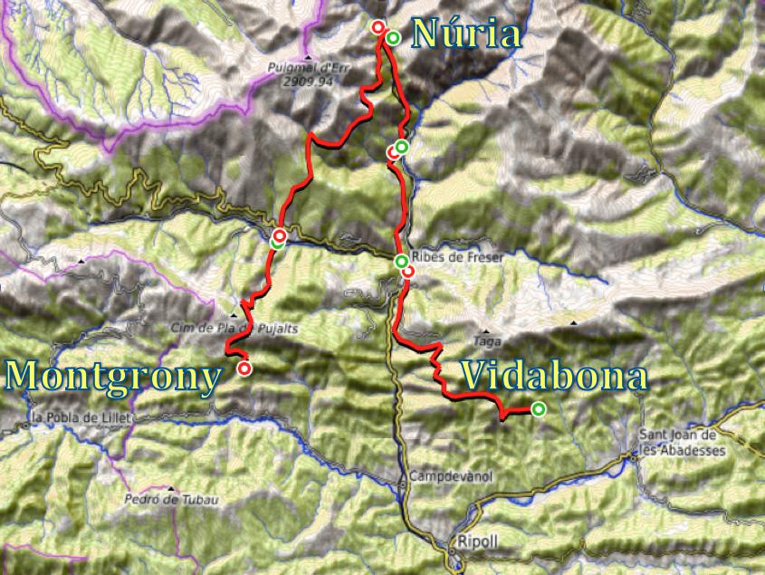 track del camino de la devocion