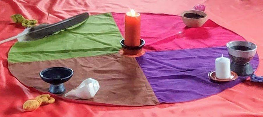 altar retiro abrazar la muerte celebrar la vida