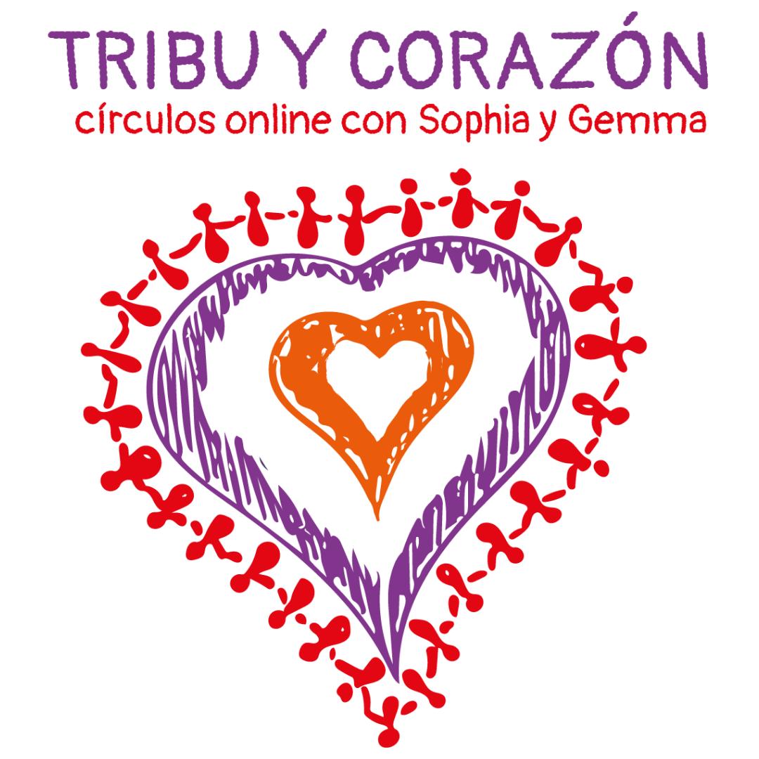 Tribu y corazón círculos online con Sophia y Gemma